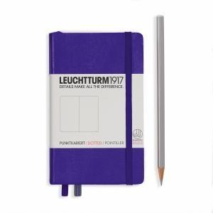Leuchtturm A6 Pocket Purple Dotted Hardcover Notebook