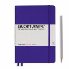 Leuchtturm A5 Medium Purple Dotted Hardcover Notebook