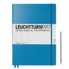 Leuchtturm A4+ Master Slim Azure Plain Hardcover Notebook