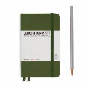 Leuchtturm A6 Pocket Army Ruled Hardcover Notebook