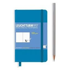 Leuchtturm A6 sketch book pocket azure hardcover