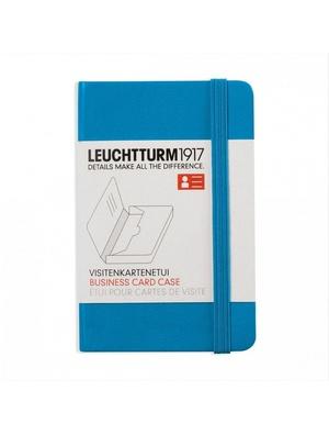 Leuchtturm business card case azure
