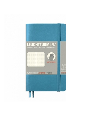Leuchtturm A6 pocket nordic blue dotted softcover notebook