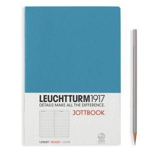 Leuchtturm A5 jottbook medium nordic blue softcover notebook