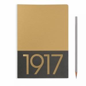 Leuchtturm A5 Jottbook Medium Gold Ruled 2pack Metallic Edition Softcover