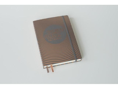Leuchtturm Write don't talk special edition notebook Anthraciet