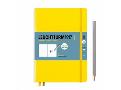 Leuchtturm A5 Sketch Book Medium Lemon Hardcover