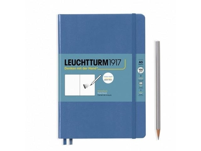 Leuchtturm A5 Sketch Book Medium Denim Hardcover