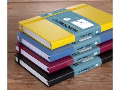 Leuchtturm A5 Sketch Book Medium Denim Hardcover