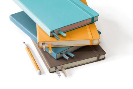 Leuchtturm Rising Colours A5 Medium Hardcover Stone Blue Plain Notebook