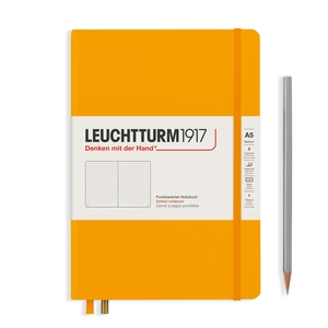Leuchtturm Rising Colours A5 Medium Hardcover Rising Sun Dotted Notebook