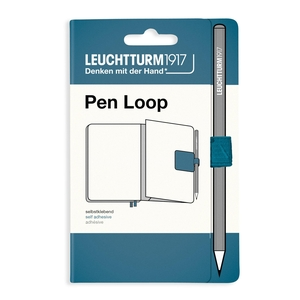 Leuchtturm Rising Colours Pen Loop Stone Blue