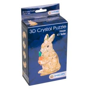 Crystal 3D Puzzel Haas 41 stukjes