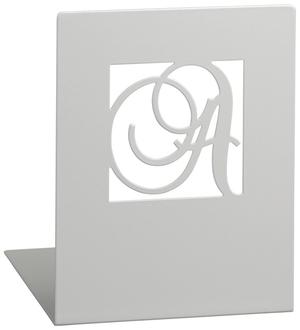 Libri_x Boekensteun A&z Metaal - Zilver
