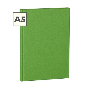 Semikolon Classic A5 Hardcover Lime Ruled Notebook
