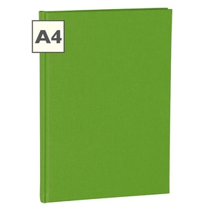 Semikolon Classic A4 Hardcover Lime Ruled Notebook