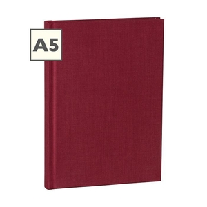 Semikolon Classic A5 Hardcover Burgundy Blanco Notebook