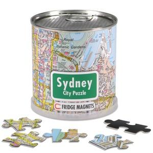Sydney city puzzle magnets