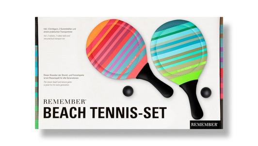 Remember Strand Tennis Set