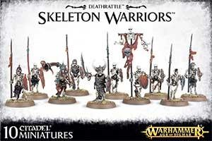 Warhammer Age of Sigmar - Deathrattle Skeleton Warriors