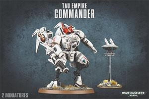Warhammer 40,000 - T'au Empire Commander