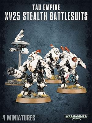 Warhammer 40,000 - XV25 Stealth Battlesuits