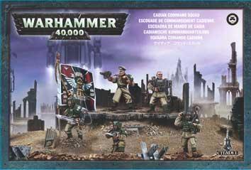 Warhammer 40,000 - Cadian Command Squad