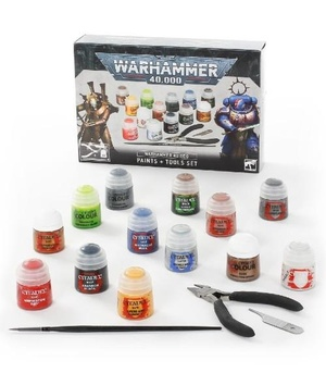 Warhammer 40,000 Paints + Tools Set