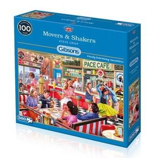 Puzzel Movers & Shakers 500 stukjes