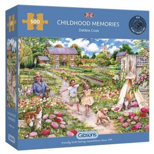 Puzzel Childhood Memories 500 stukjes