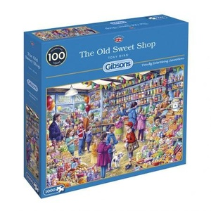 Puzzel The Old Sweet Shop 1000 stukjes