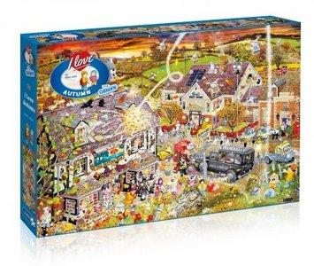 Puzzel I Love Autumn 1000 stukjes