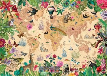 Puzzel World of Life 1000 stukjes