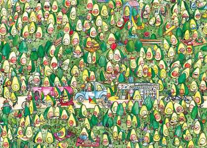 Puzzel Avocado Park 1000 stukjes