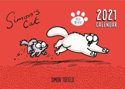 Simon's Cat A4 Familie Kalender 2021