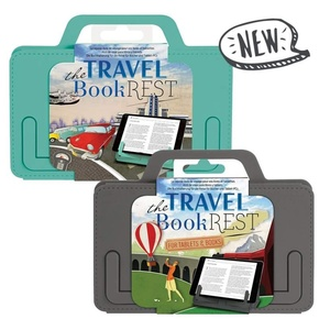 The Travel Book Rest - Mint - for tablets & books