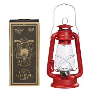 Gentlemen's Hardware Hurricane Lamp