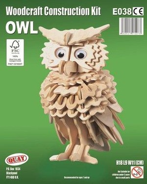 Owl Woodcraft Construction E038