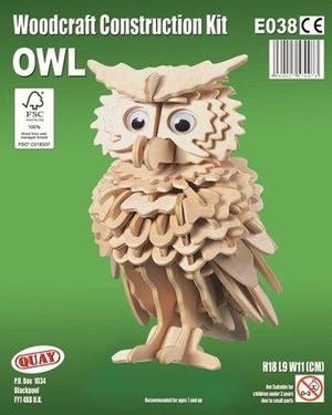 Owl Woodcraft Construction E038