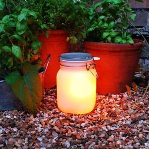 Weckpot op zonne-energie Geel Sunjar Yellow