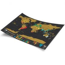 Scratch Map Travel De Luxe