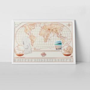 Magni-map Magnetische Wereldkaart
