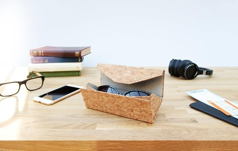 Cork Sunglasses Case - Good Design Works