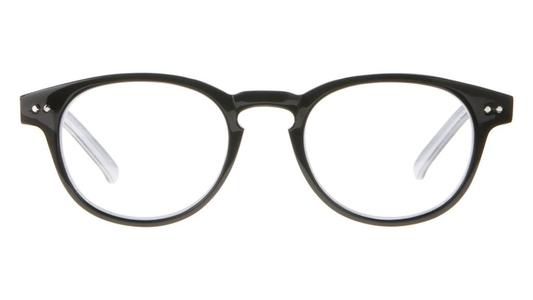 Icon Eyewear MCB802 Goldline Leesbril +2.50 - Glanzend zwart