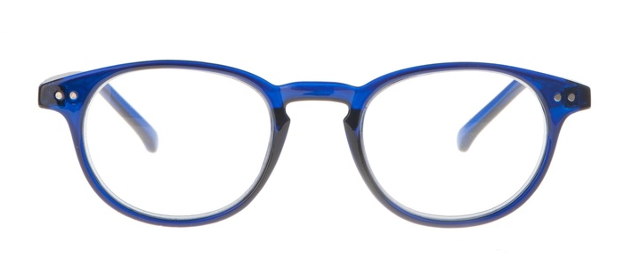 Icon Eyewear KCE003 Boston Leesbril +1.00 - Helder donkerblauw