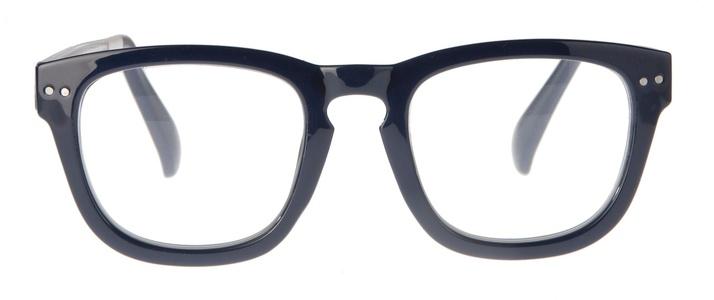 Icon Eyewear KCE710 Celiotti, Silverline Leesbril +3.00 - Navy montuur, clear pootjes