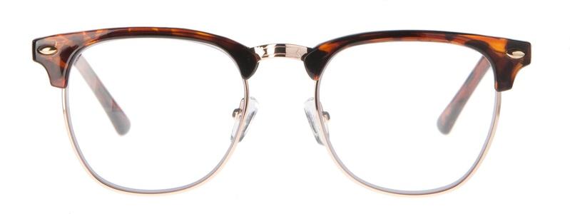 Icon Eyewear RCD721 ClubMaster Silverline Leesbril +1.50 - Glanzend demi
