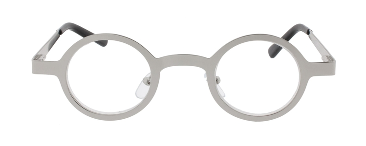 Icon Eyewear ICC338 The Doc Leesbril +1.50 - Glanzend zilver