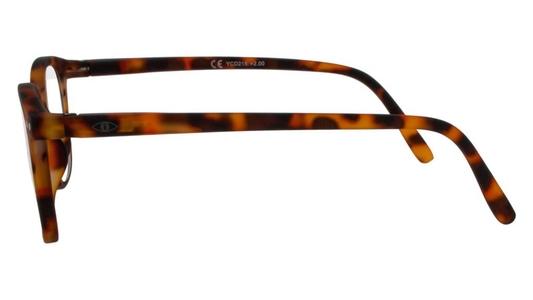 Icon Eyewear YED215 Xtreme Jibz BlueShields Leesbril +2.00 - Rubberized Demi Tortoise