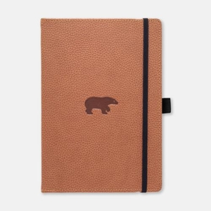 Dingbats Notebook A5+ Wildlife Brown Bear Lined